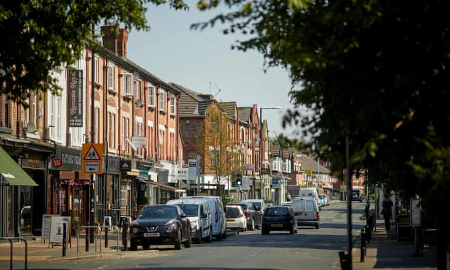 Burton Road west Didsbury, south Manchester