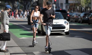 Are ride-share electric scooters the future of urban