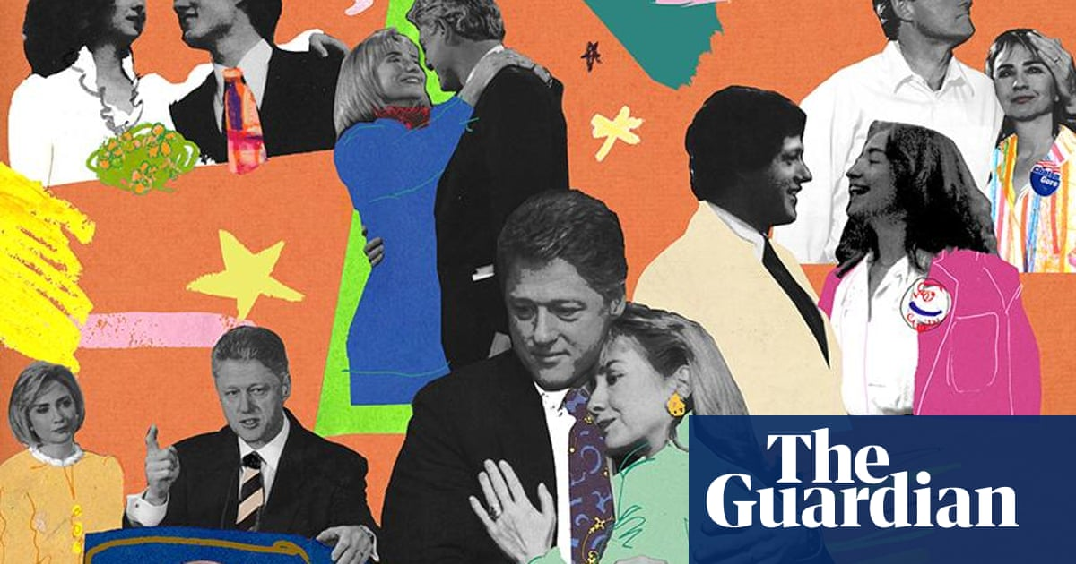 How Role Playing Shaped The Clintons Marriage Us News The Guardian