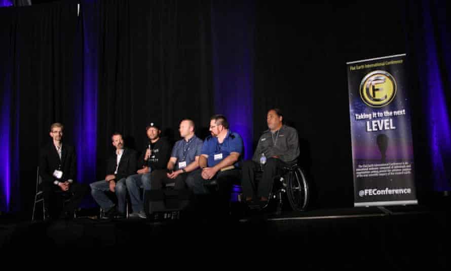 The Flat Earth conference in Denver, Colorado, in November 2018