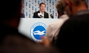 Graham Potter was announced as the new Brighton manager on Monday afternoon.