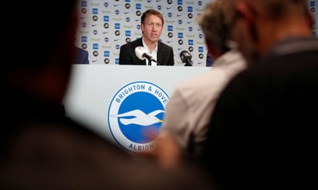 Graham Potter confirmed as new Brighton manager after leaving Swansea