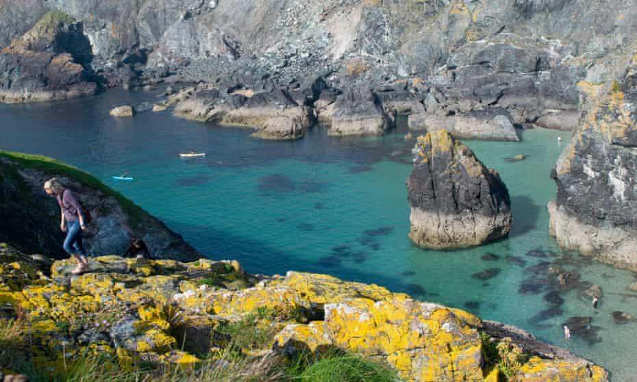 Asparagus Island, near the Lizard, Cornwall.