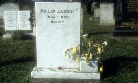 Philip Larkin s grave in Cottingham cemetery, near Hull, pictured here in 2010