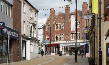 The centre of Kettering in Northamptonshire.