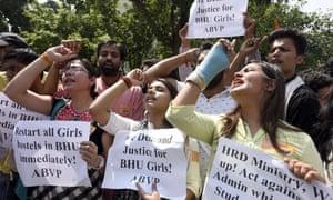 Banaras Hindu University protest