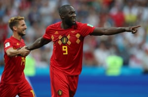 Lukaku has surely made it safe for Belgium with that header.
