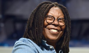 'She's a legend,' says London Hughes of her hero Whoopi Goldberg.