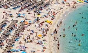 Mallorca … where two men were arrested for allegedly encouraging false claims.