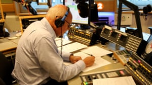 Don't give up the day job… Iain Duncan Smith sitting in for Jeremy Vine on Radio 2.