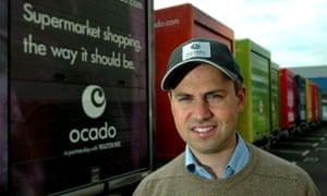 Tim Steiner, co-founder and chief executive of Ocado.