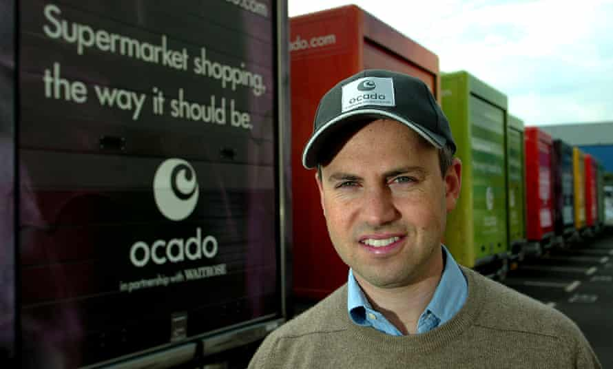 Tim Steiner, the CEO of Ocado