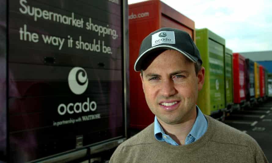 Tim Steiner of Ocado