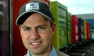 Ocado's chief executive, Tim Steiner.