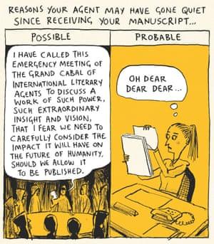 Berger & Wyse on literary agents – cartoon