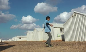 Football can provide relief from the stresses of life in Za'atari refugee camp