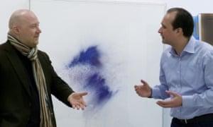 The art of seeing … Jóhann Jóhannsson and Thilo Heinzmann.