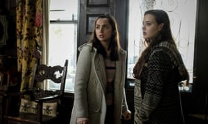 from left, Ana de Armas and Katherine Langford in Knives Out.
