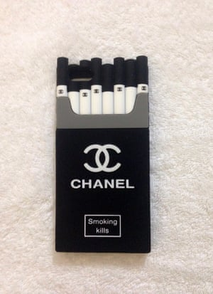Fake Chanel iPhone case