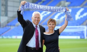 Mark Palios and his wife, Nicola, took over Tranmere Rovers in 2014.