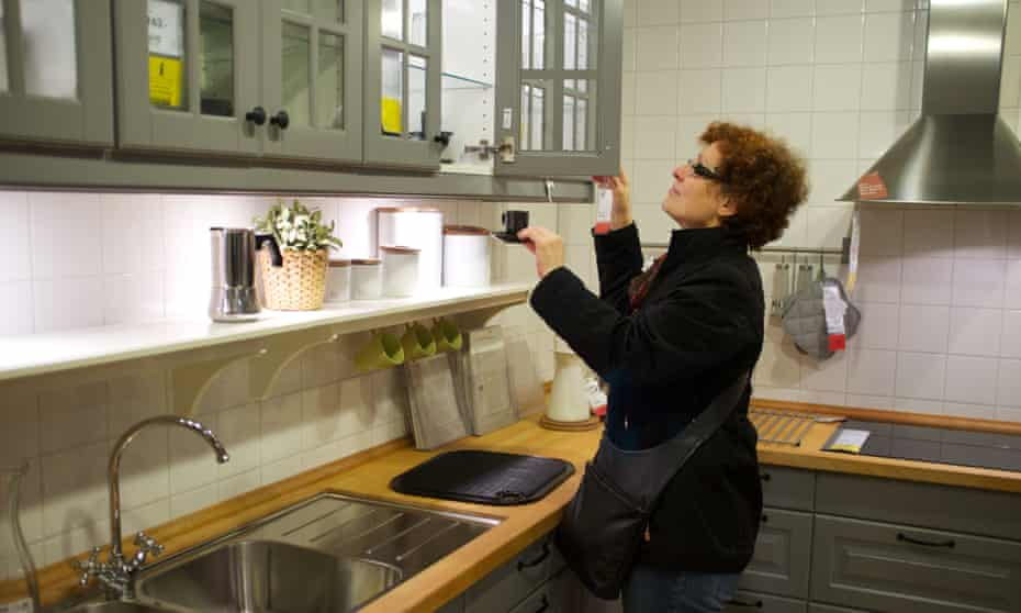 Ikea kitchen showroom