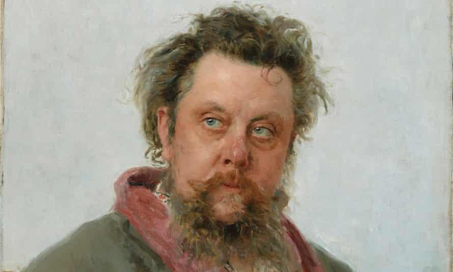 Modest Mussorgsky by Ilia Repin, 1881.