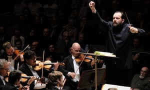 Andris Nelsons conducts the Leipzig Gewandhausorchester at the Royal Festival Hall.