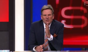 Sam Newman criticising Caroline Wilson after Eddie McGuire controversy