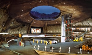 Hard to beat … Blofeld's volcano lair in You Only Live Twice.