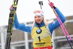 Biathlete Kaisa Makarainen will be aiming for the podium again in South Korea.