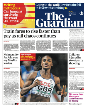 Guardian front page 1308