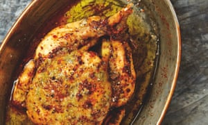Yotam Ottolenghi's roast chicken with preserved lemon.