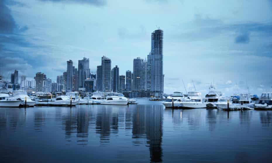 Estimates put the total amount in offshore tax havens like Panama at more than $20tn.