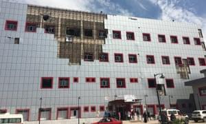 Qayyarah hospital