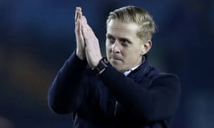 Garry Monk applauds the visiting fans at Hillsborough after Middlesbrough's 2-1 win at Sheffield Wednesday on Saturday. Hours later he was relieved of his job.