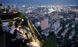 Banyan Tree Rooftop Vertigo and Moon Bar