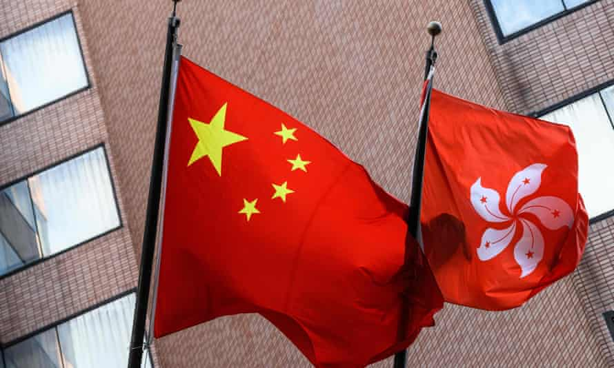 The security law China recently introduced in Hong Kong is applicable to both Hong Kong residents and non-residents.