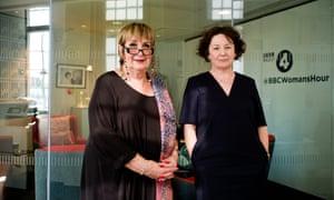 Jenni Murray, left, and Jane Garvey