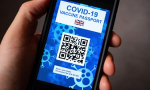 A conceptual design for an electronic Covid-19 certificate using a QR code on a smart phone