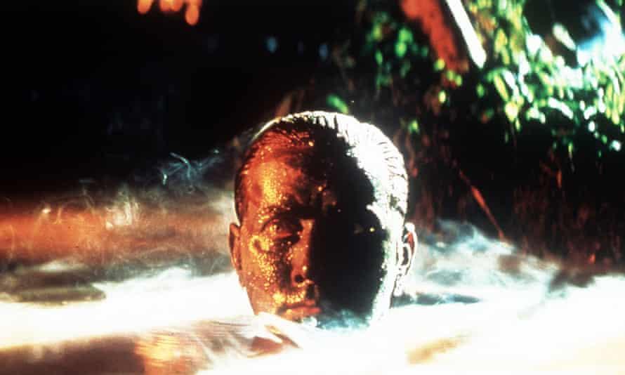 Martin Sheen in Francis Ford Coppola's Apocalypse Now Redux.