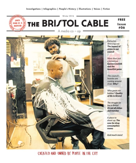 Issue six of the Bristol Cable.
