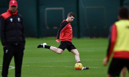 Liverpool defender Jon Flanagan back in action at Melwood after a 19-month injury lay-off.
