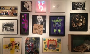 The One Year of Resistance exhibit at The Untitled Space, January 2018.