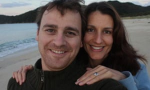 Matt Vickers and wife Lecretia Seales. Seales died of a brain tumour after fighting unsuccessfully in New Zealand to change laws on assisted dying.