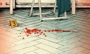 blood spatter floor evidence