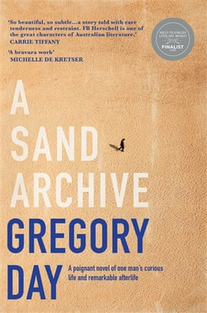 The cover of A Sand Archive by Gregory Day