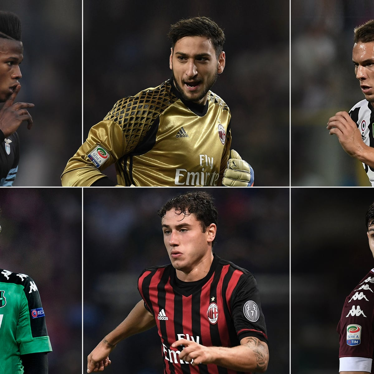The 50 Best Young Footballers In Italy Serie A The Guardian