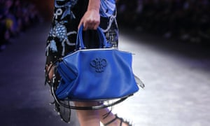 A Pucci logo-embossed bag for spring/summer.