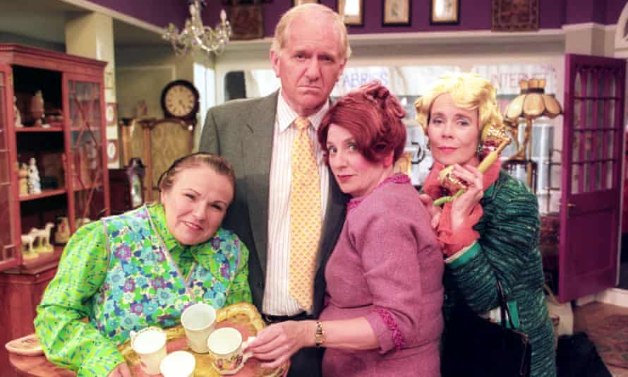 'I think about Victoria every day' … from left, Julia Walters, Duncan Preston, Victoria Wood and Imrie.