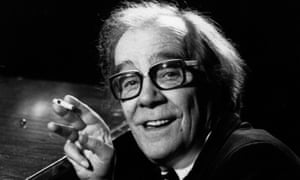 British comedian Max Wall, 1979.